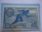 de Africa - Marruecos -  Jeux Panárabes - Casablanca 1961 - Juegos Pan-Árabes -Realeza  Marroquí