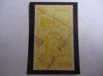 Sellos de America - Venezuela -  400° aniversario de la Fundación de la Ciudad de Trujillo, 1557-1957 - Escudo de Armas.