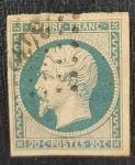 Sellos del Mundo : Europa : Francia : Napolean III Empire Franc