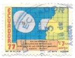 de America - Ecuador -  MAPA