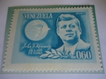 Stamps America - Venezuela -  John Fitzgerald Kennedy (1917-1963) - Alianza para El Progreso (1963-1970)- Emblema.
