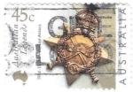 Stamps Oceania - Australia -  condecoración