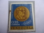 de America - Venezuela -  Dr. Luis Razetti (Medallón) - Centenario de la muerte del Médico, 1862-1932.