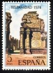 Sellos de Europa - España -  ARGENTINA: Misiones Jesuíticas de lo Guaraníes