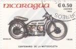 de America - Nicaragua -  CENTENARIO DE LA MOTOCICLETA