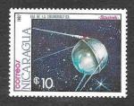 Stamps Nicaragua -  1654 - Día de los Cosmonautica