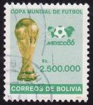 Stamps Bolivia -  México 86