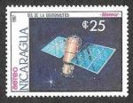 Sellos de America - Nicaragua -  1657 - Día de los Cosmonáutica