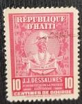 Stamps Haiti -  J.J. Dessalines 10 C Republique D'Haiti