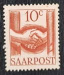 Stamps Europe - France -  French Protectorate Saar 1948 10 centimes