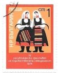 Stamps Europe - Bulgaria -  trajes típicos