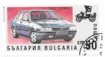 Stamps Europe - Bulgaria -  coches