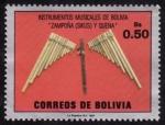 Stamps America - Bolivia -  Instrumentos musicales de Bolivia