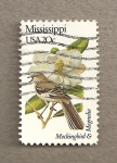 Stamps United States -  Flores y aves-Mississippi