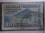 de America - Venezuela -  Velódromo Nacional - III Juegos Deportivos Bolivarianos, Diciembre 1951