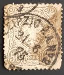 de Europa - Alemania -  Deutsche Reich 1877 - Eagle and Mark Rich