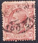 Stamps Italy -  Vittorio Emanuele III, 10 centesimi, 1906
