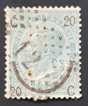 de Europa - Italia -  1865 Poste Italiane overprint 20 C quindici