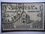 de America - Venezuela -  Oficina Principal de Correos  de Caracas.