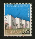Stamps : Europe : Spain :  XXV años de paz