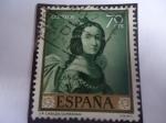 Sellos de Europa - España -  Ed:1420 - St. Casilda - Oleo de Francisco de Zurbarán.
