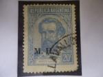 Sellos del Mundo : America : Argentina : Martín Miguel de Güemes (1785-1821) Guerra de la Indp. de Arg. - líder de la Guerra Gaucha.