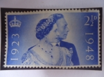 de Europa - Reino Unido -  King George VI (1895-1952) - Bodas de Plata, 1923-1948