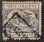 de Europa - Italia -  1928 Recapito Autorizzato 10 cent