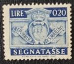 de Europa - San Marino -  1945, San Marino Segnatasse 20 Lire