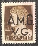 de Europa - Italia -  Augustus Imperator 10 cent, AMG/Venezia Giulia