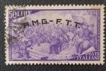 de Europa - Italia -  Poste Italiane 50 Lire, AMG-FTT Overprint