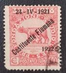 de Europa - Italia -  1922 Costituente Fiumana