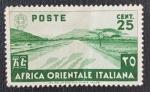de Africa - Etiopía -  Africa orientale italiana 25 cent, 1938
