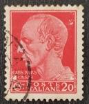 de Europa - Italia -  ITALIA, 1929 20c SERIE IMPERIALE Giulio Cesare