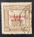 de America - Paraguay -  Iglesia de Encarnacion, Asuncion, 1935, habilitado $65