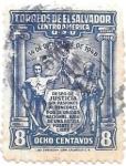 Sellos de America - El Salvador -  aniversarios