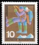 Sellos del Mundo : Europa : Alemania : recaste alpino