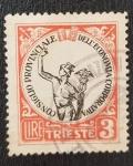 Sellos de Europa - Yugoslavia -  City of Trieste Chamber of Commerce Bf. #16., 3 lire, 1946