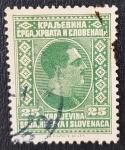 Sellos de Europa - Yugoslavia -  King Alexander, 25 para, 1926