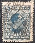 Stamps Yugoslavia -  King Alexander, 3 dinar, 1926