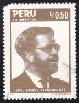 Stamps America - Peru -  José Galvez Barrenechea