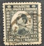Sellos de Europa - Yugoslavia -  Crown Prince Alexander, 20 paras, 1921