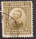Stamps Europe - Yugoslavia -  King Peter I, 2 dinar, 1921