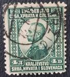 Stamps Europe - Yugoslavia -  King Peter I, 4 dinar, 1921