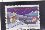 Stamps Finland -  PAPA NOEL