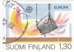 Sellos del Mundo : Europa : Finlandia :  EUROPA CEPT