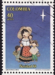 Stamps Colombia -  Navidad 88