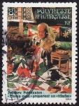 Stamps Oceania - Polynesia -  Folklore
