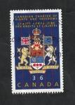 Sellos del Mundo : America : Canadá :  996 - 50 Anivº de la Carta canadiense de los Derechos y Libertades