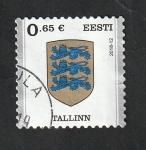 Sellos del Mundo : Europa : Estonia : 851 - Escudo de la ciudad de Tallinn